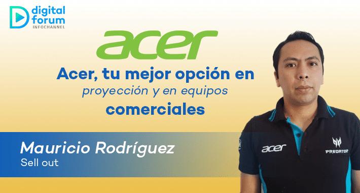 Acer presenta arsenal en videoproyección y cómputo comercial