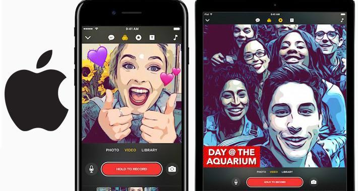 Apple lanzará app al estilo Snapchat