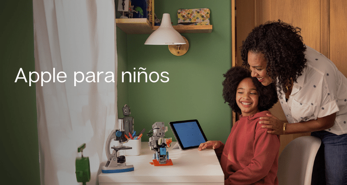 """Apple for kids"" un portal para ayudar a los papás"