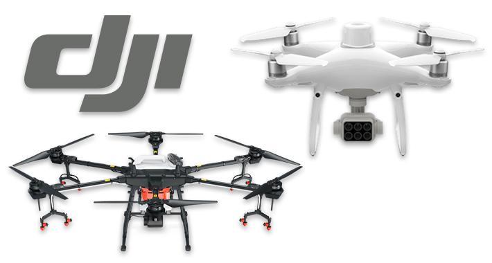 Nuevos drones de DJI para la agricultura