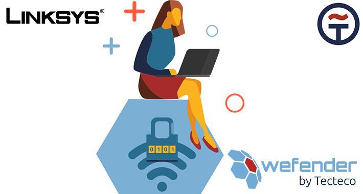 Linksys y TECTECO lanzan sistema de seguridad WiFi  para PyMEs