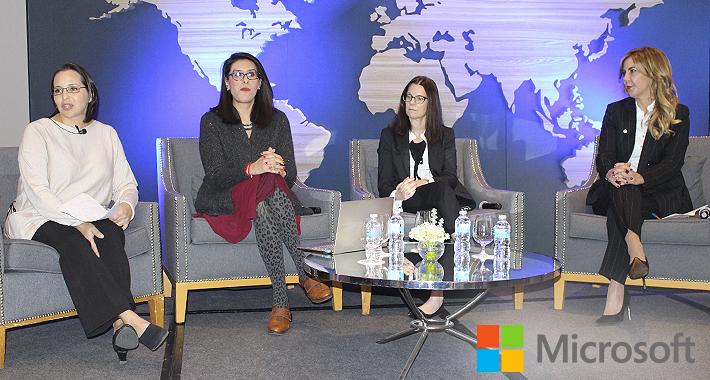 Microsoft fomenta la inclusión de las mujeres en la Ciberseguridad