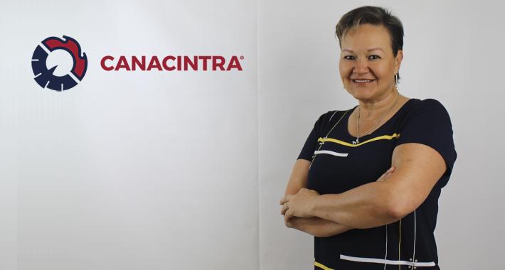 Mónica Martínez lidera rama 57 en CANACINTRA