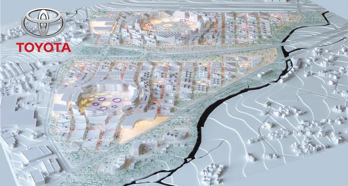 Desarrolla Toyota ciudad futurista