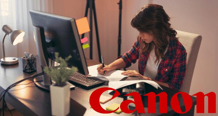 Trabajo remoto óptimo con impresoras Canon