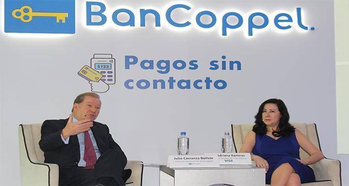 Visa y BanCoppel mejoran con tecnología la experiencia del cliente