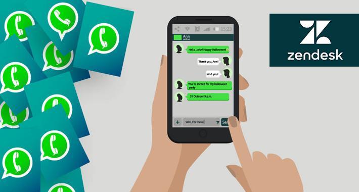 Conéctate con tus clientes vía WhatsApp for Zendesk