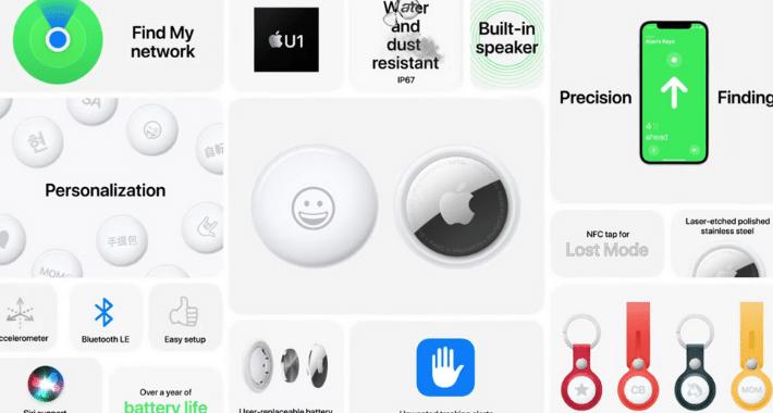 AirTags, destaca su anuncio en el Apple Event
