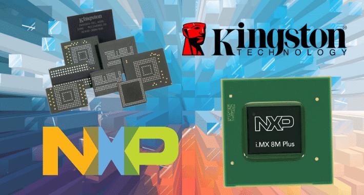 NXP Semiconductors integrará la tecnología de Kingston