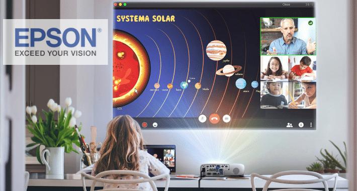 Lleva a tus clientes las soluciones de educación de Epson