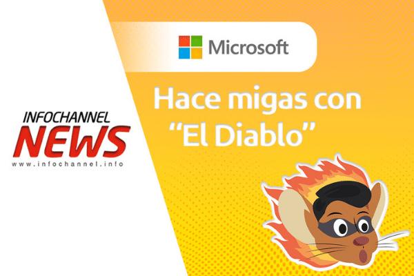 """Microsoft hace migas con """"El Diablo"""""""