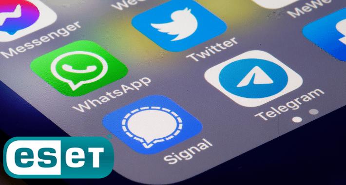 ¿WhatsApp, Telegram o Signal? ESET las analiza