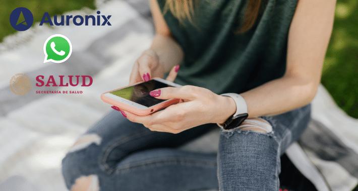 WhatsApp y Auronix se unen para crear al Dr. Armando Vaccuno