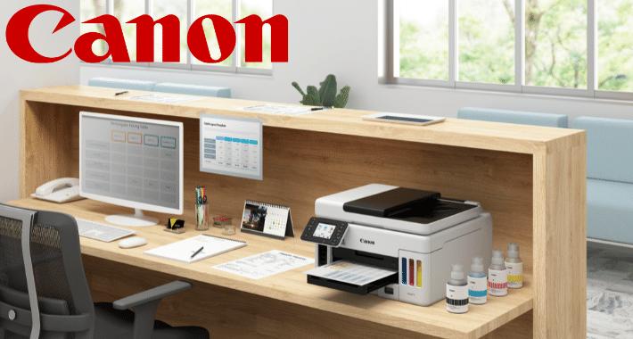 Canon Maxify GX, impresión rentable en cualquier entorno