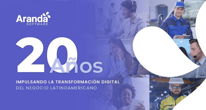 Protegido: Aranda Software celebra sus 20 años en el mercado  Latinoamericano como líder en soluciones ITSM