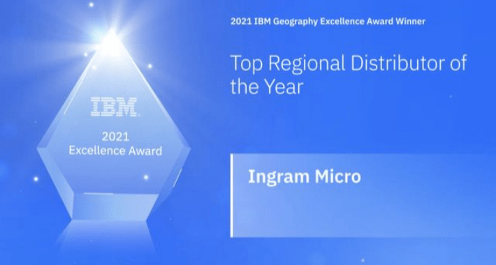 """Distributor of the Year"": IBM distingue a Ingram Micro"