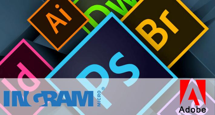 Ingram Micro suma Adobe a Marketplace