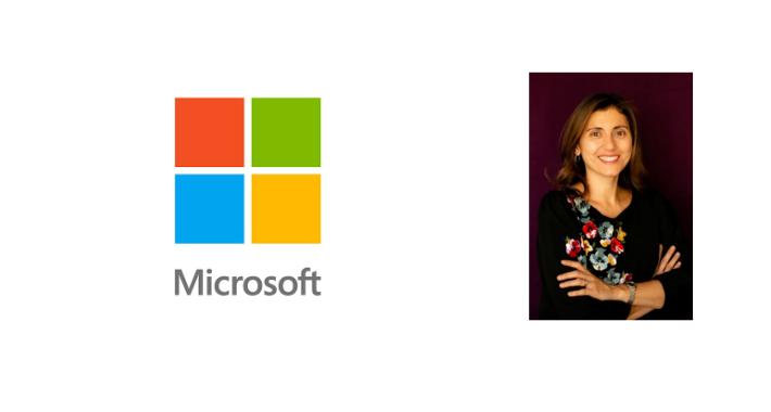 Ivonne Mejía, directora de socios de Microsoft México