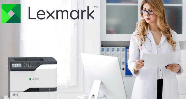 Lexmark corta brecha digital del sector salud