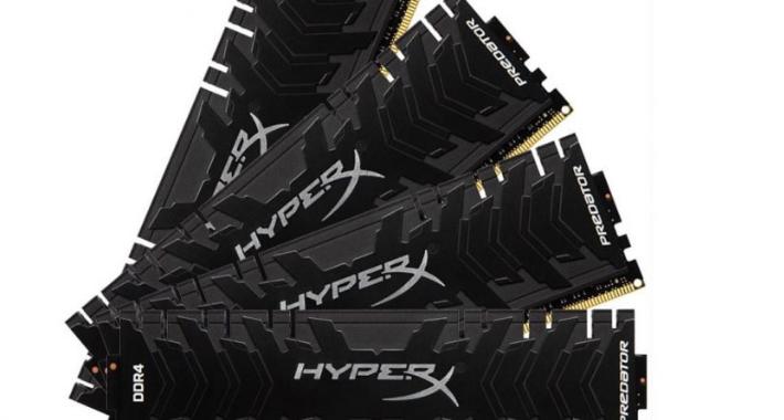 Kingston Technology acelera con nuevas velocidades de Predator DDR4