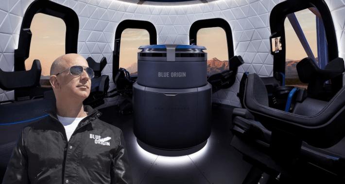28 millones de dólares costará viajar al espacio con Jeff Bezos