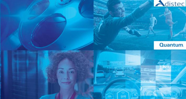 Quantum y Adistec ofrecen soluciones de gestión de datos
