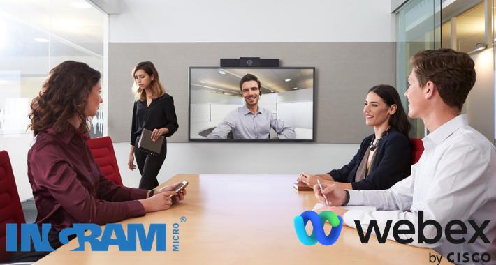 Cisco Webex e Ingram Micro llevan colaboración a la Pyme
