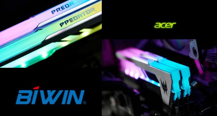 Gamers y entusiastas, prémialos con SSDs PREDATOR y RAM ACER