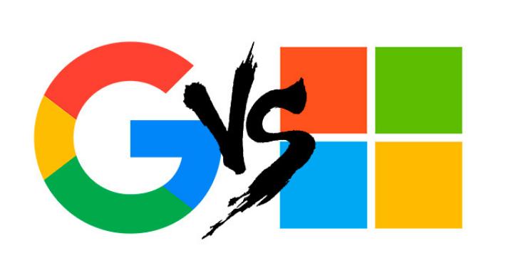 Microsoft y Google podrían volver a las batallas legales