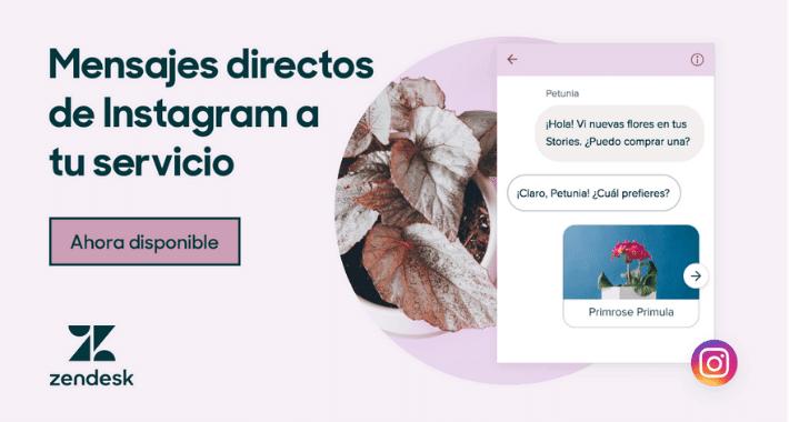 Recientemente Facebook lanzó la API de Messenger para Instagram, la cual facilitará las experiencias de compra por lo que a partir de ahora las empresas podrán conectar su cuenta de Instagram con Zendesk.