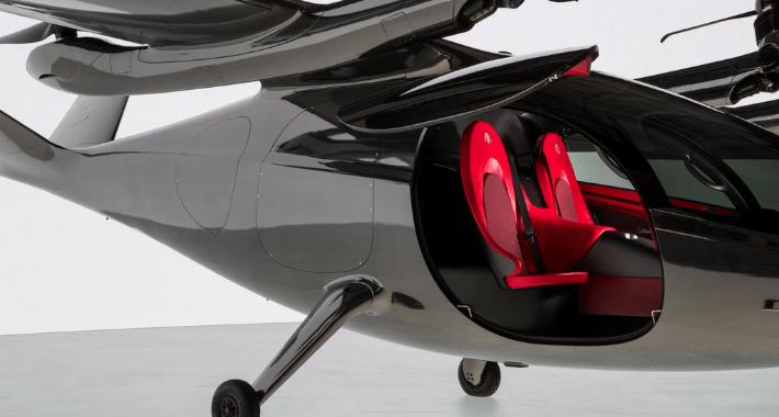 Archer Aviation dio a conocer su primer taxi volador eléctrico, se trata de Maker, el cual tuvo un debut al estilo Tesla.