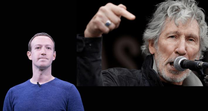 Roger Waters le dijo que ¡NO! a Mark Zuckerberg