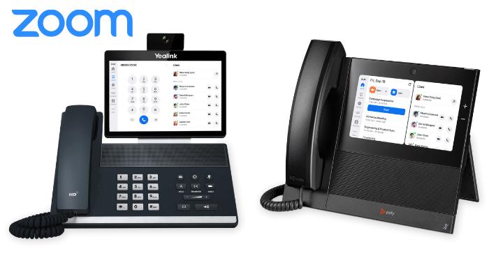 Zoom Phone Appliance, una colaboración de Zoom, Poly y Yealink