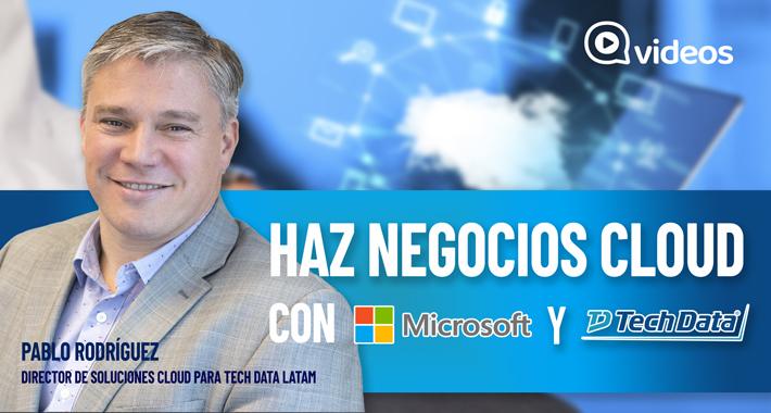 Haz negocios cloud con Microsoft y Tech Data