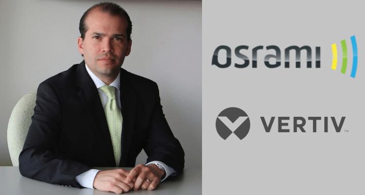 Osrami recluta canales para Vertiv