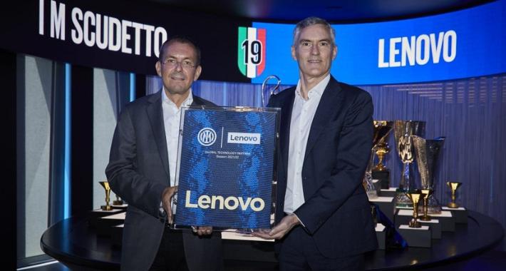 Lenovo marca gol y digitaliza al Inter de Milán