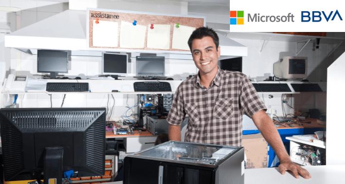 Microsoft y BBVA ofrecen capital a Pymes