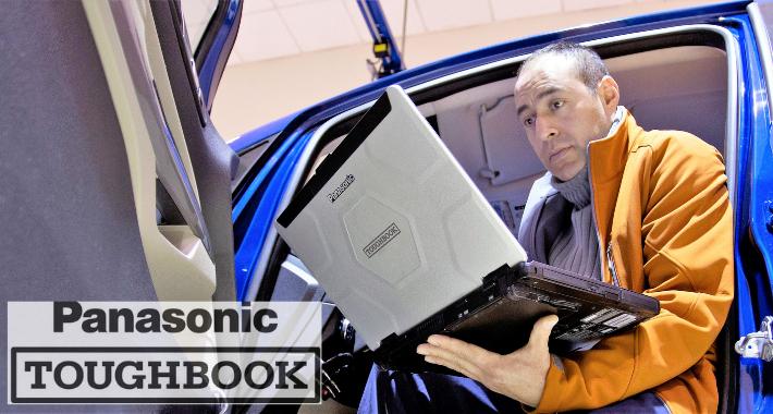 Panasonic Toughbook, los equipos para usuarios de campo