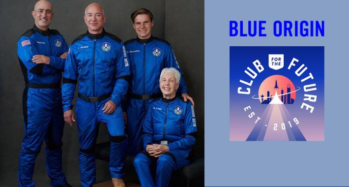 Blue Origin busca que las personas vivan y trabajen en el espacio