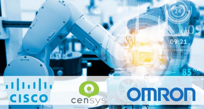 Cisco, Omron y Censys a favor de la Industria 4.0