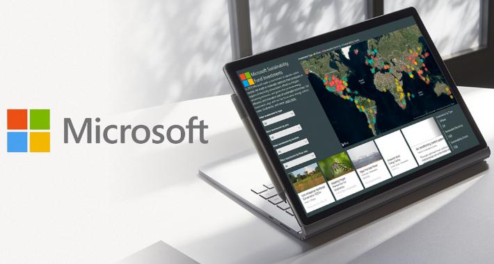 Microsoft pinta de verde al sector empresarial