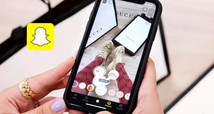 Snap desarrolla un sistema de compras a través de la Realidad Aumentada