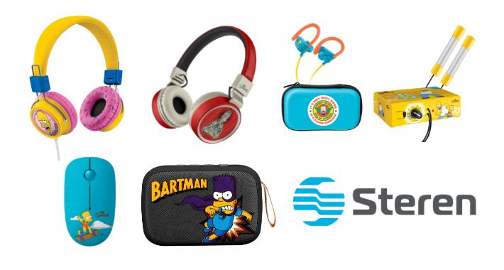 Steren lanza una línea de productos edición especial de Los Simpson