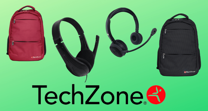 Mochilas de batalla y variedad de diademas con TechZone