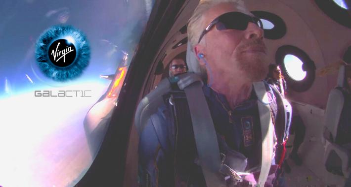 Turismo espacial: Richard Branson viaja al espacio con Virgin Galactic