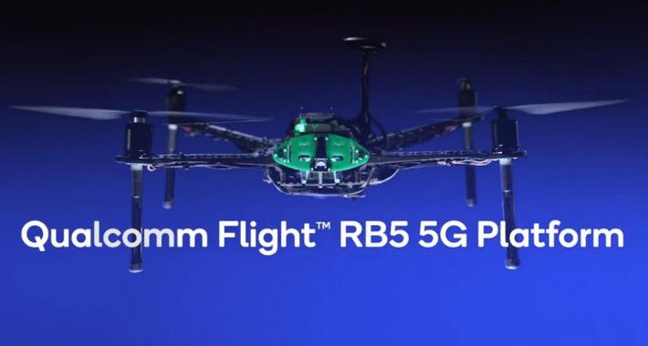 Qualcomm habilita drones autónomos con IA y 5G