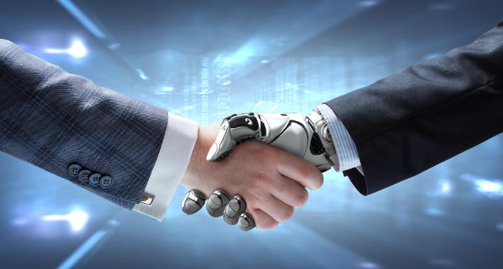 Robots colaborativos que conviven con humanos
