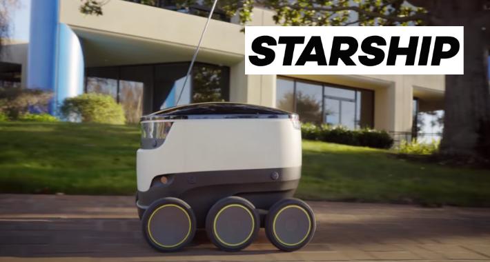 Robots repartidores son una realidad gracias a Starship Technologies