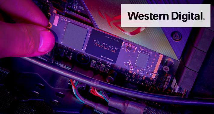 Western Digital presenta soluciones de almacenamiento para gamers