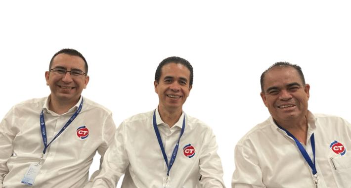 Leonel Rojo; Arturo Mendoza; Leopoldo Rojo